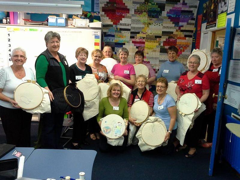 Big Stitch Ashburton 2014 Group photo
